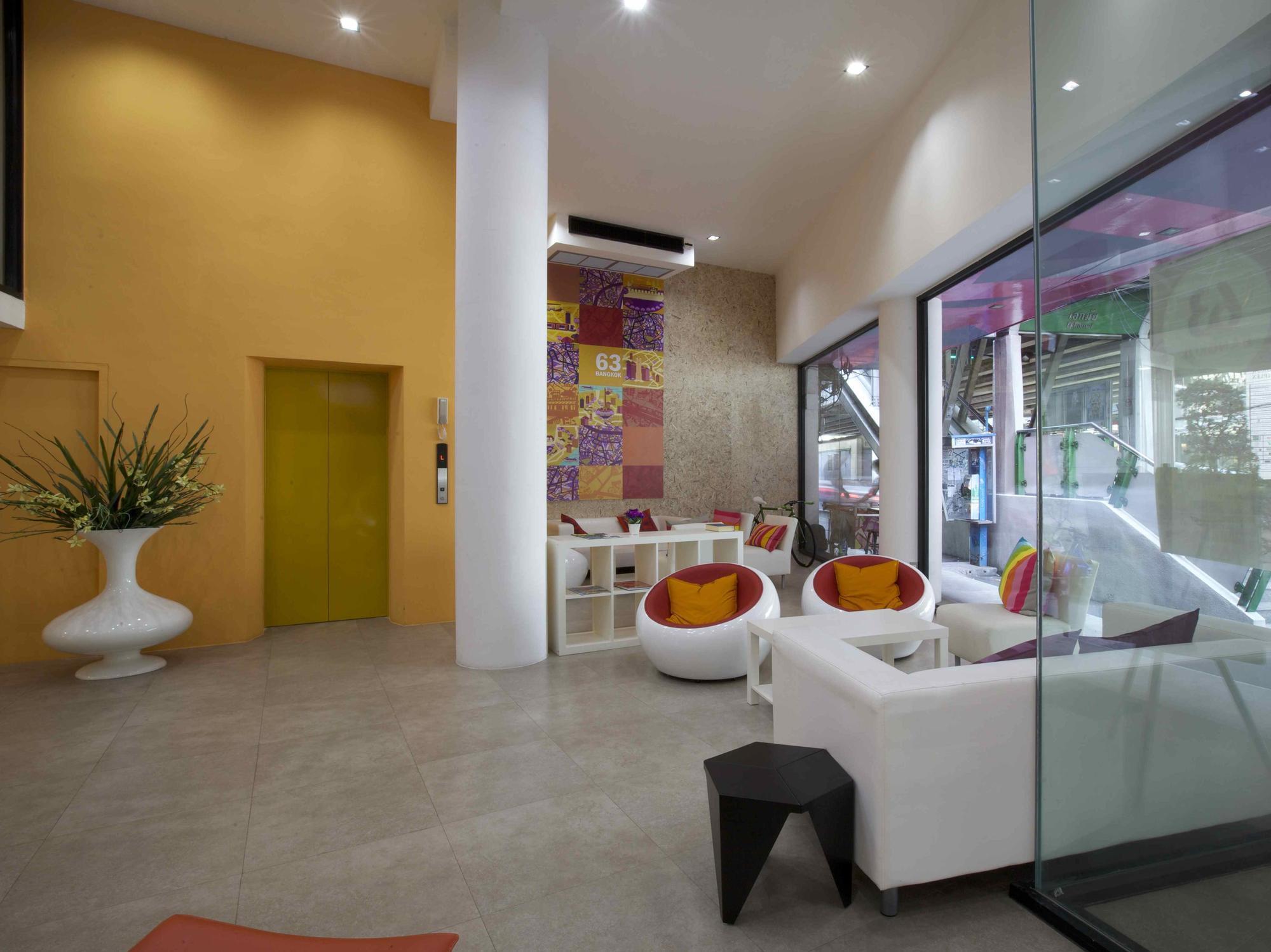 Hotel 63 bangkok boutique bed breakfast bangkok for Boutique hotel 63